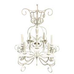 Lily Pad Chandelier, in the Style of Salterni