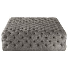 Limbo Large Pouf in Fabric by Roberto Cavalli