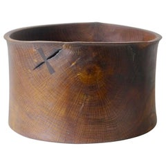 Limed and Oiled Oakbowl by Fritz Baumann