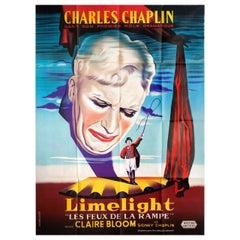 Limelight R1950s French Grande Film Poster