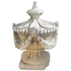 Limestone Garden Decor