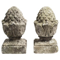 Limestone Pineapple Finials