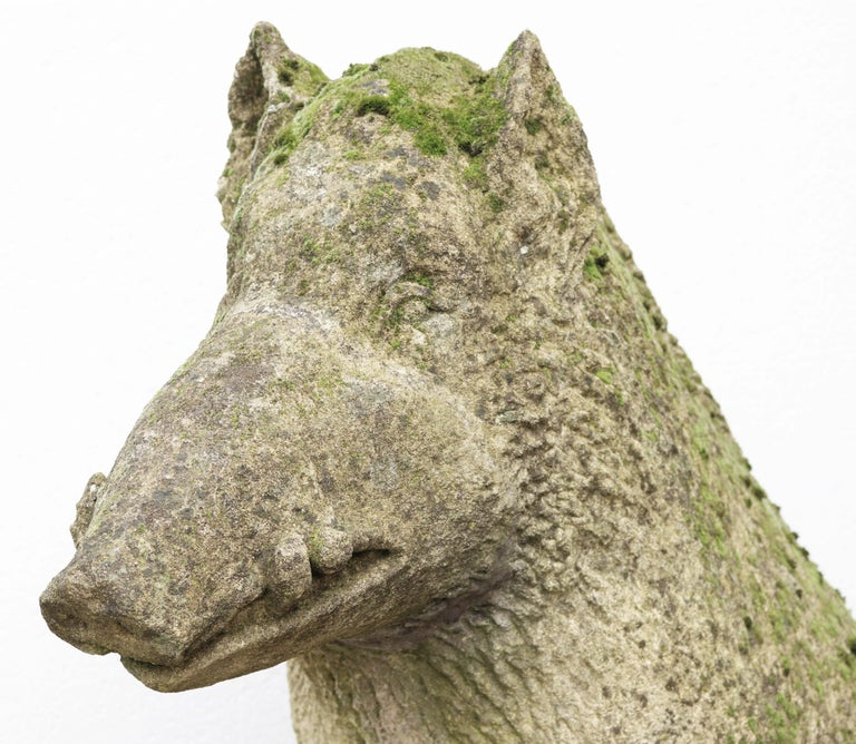 Limestone Statue of the Uffizi Boar For Sale 7