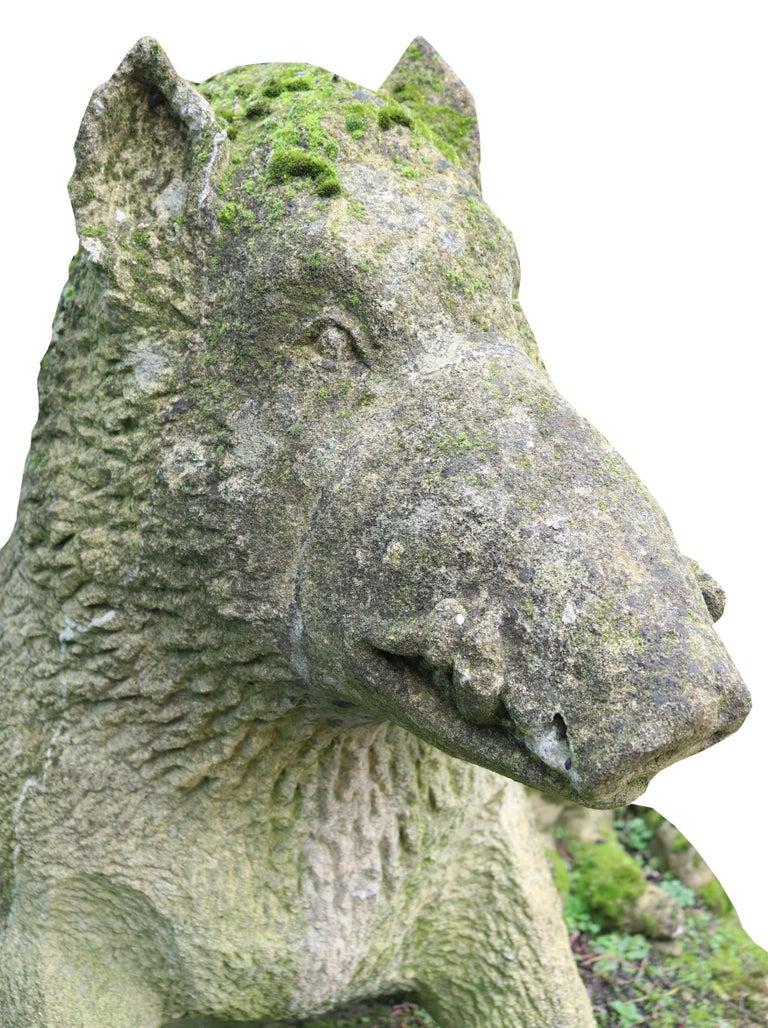 Limestone Statue of the Uffizi Boar For Sale 4