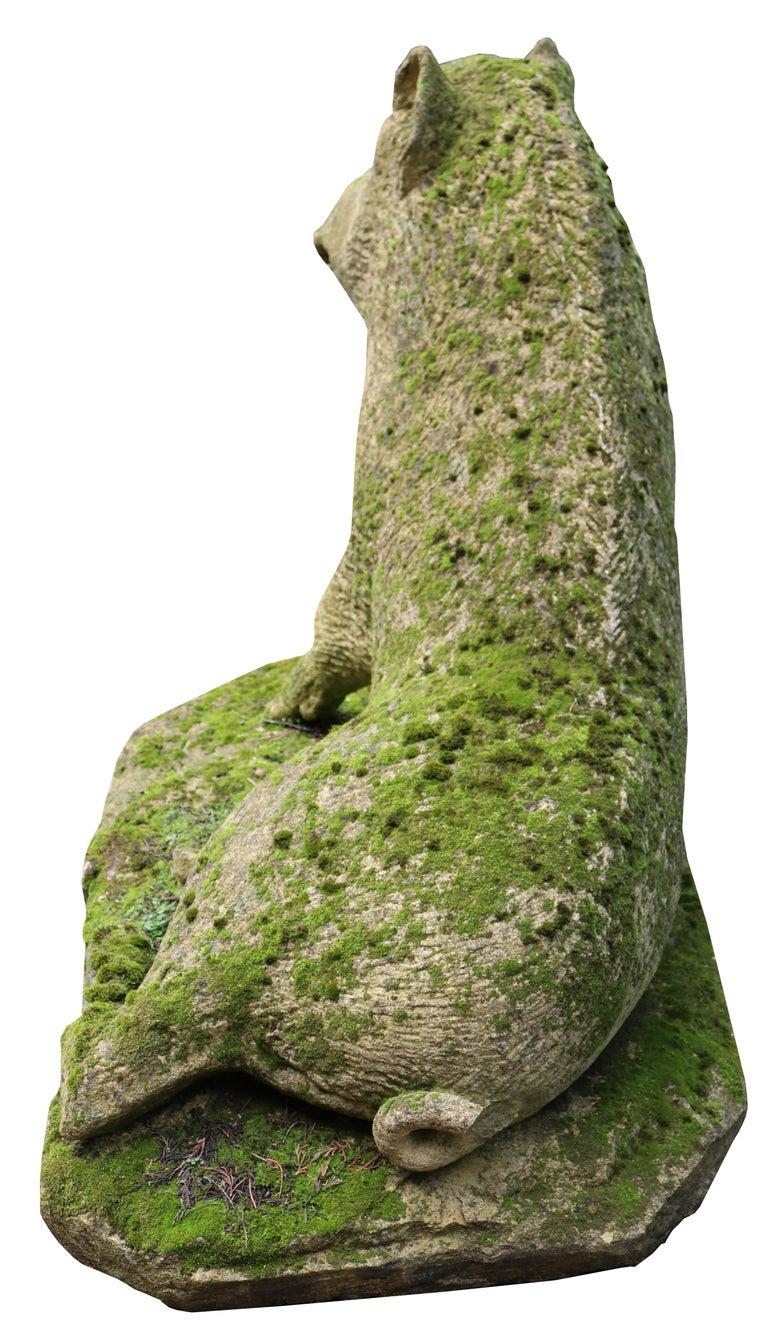 Limestone Statue of the Uffizi Boar For Sale 5