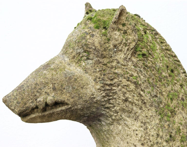 Limestone Statue of the Uffizi Boar For Sale 6