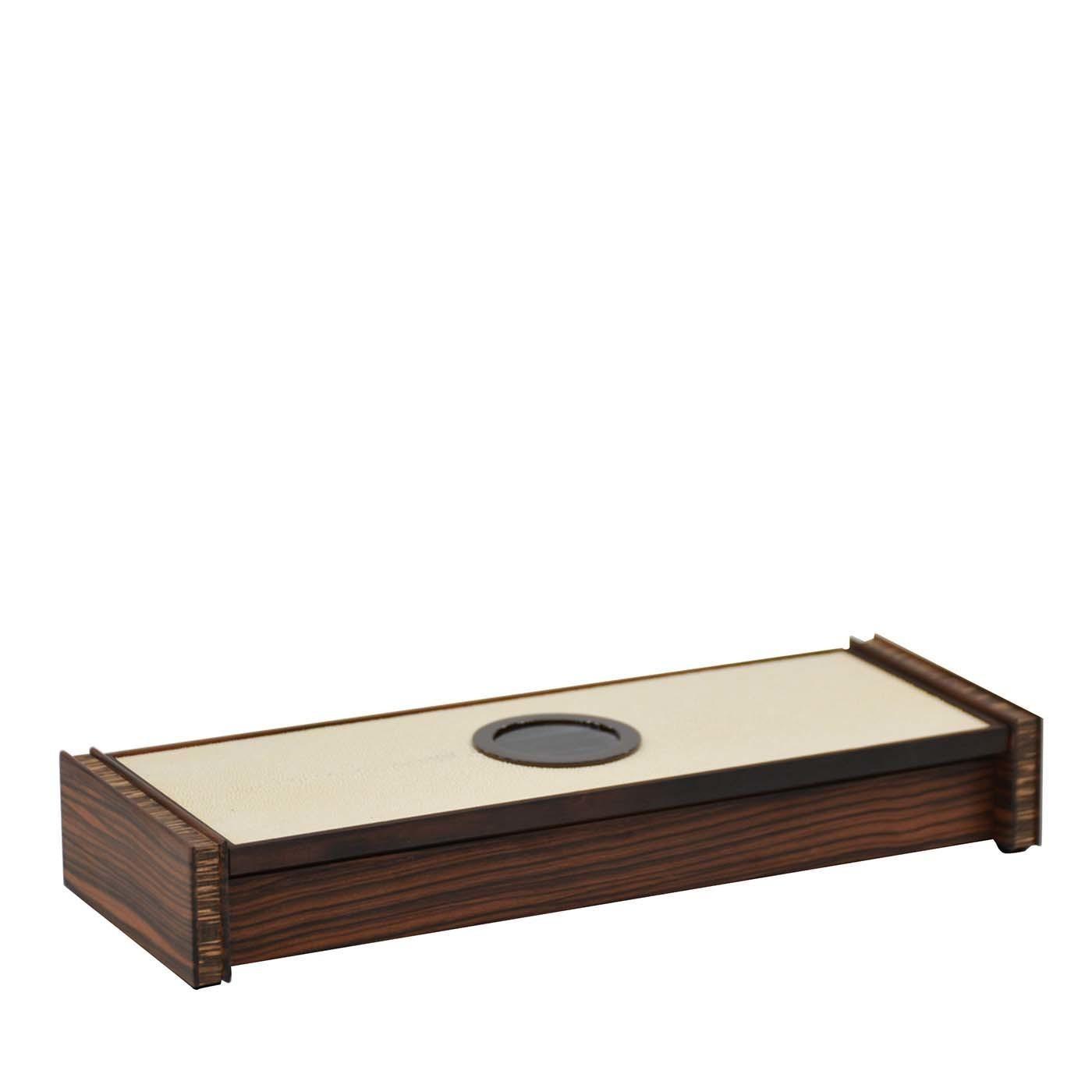 Limia Rectangular Box with Lid