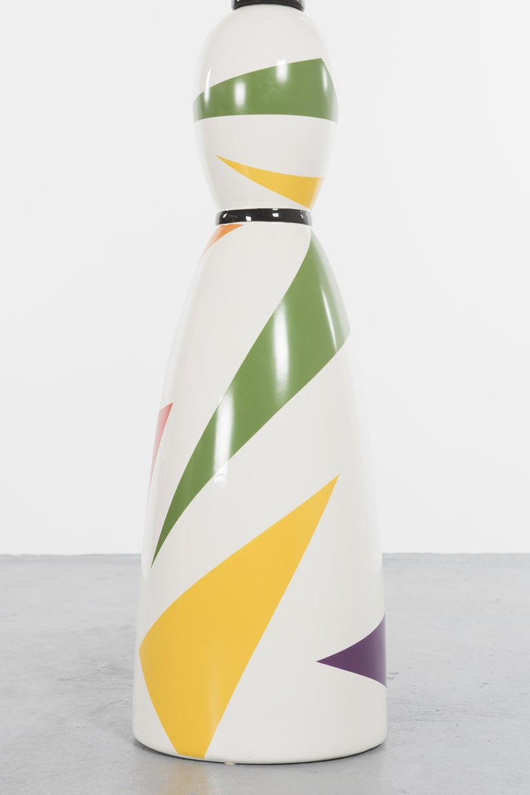 Limited and Rare Ceramic Named Anna Harlequin by Alessandro Mendini For Alessi In Excellent Condition For Sale In Villeurbanne, Rhone Alpes