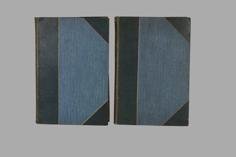 Victorian Limited Deluxe Edition of Dumas' Three Musketeers in 2 Leather Bound Volumes For Sale