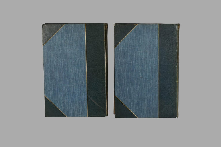American Limited Deluxe Edition of Dumas' Three Musketeers in 2 Leather Bound Volumes For Sale