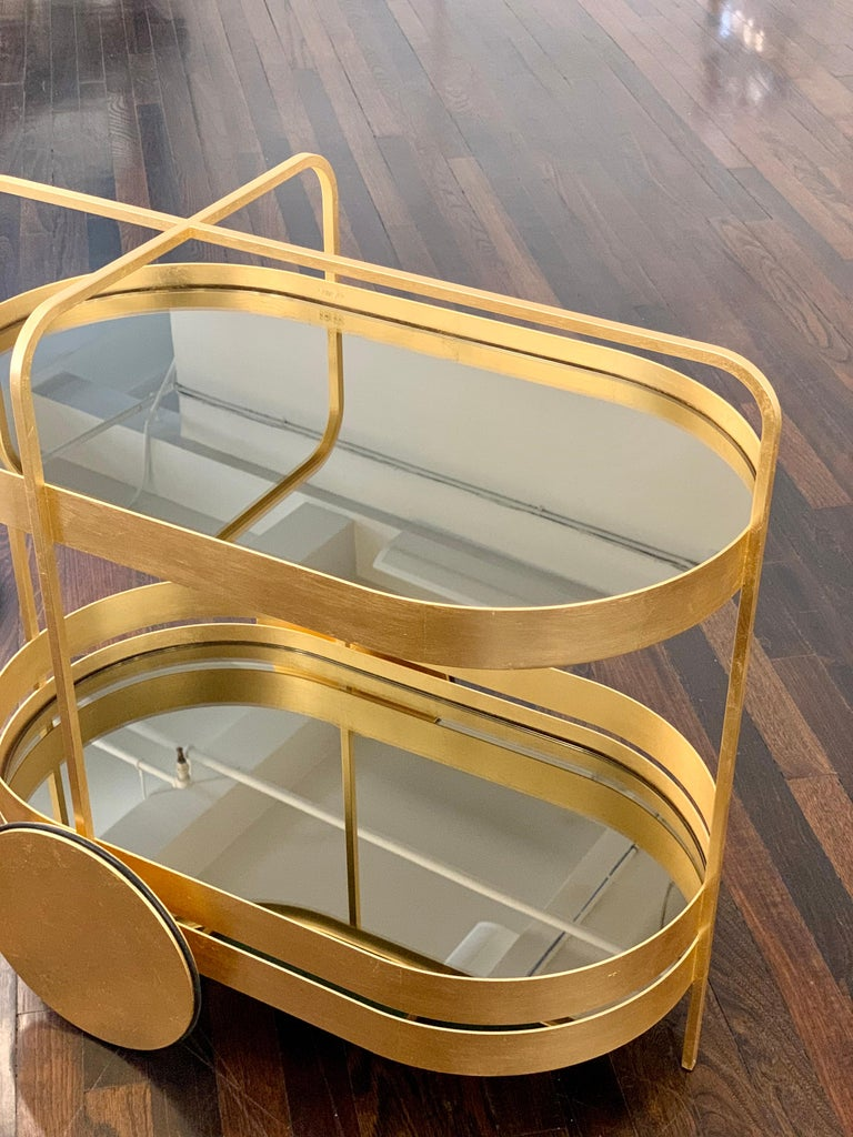 Limited Edition 1 of 50 Schonbuch Gold Grace Trolley by Sebastian Herkner For Sale 1
