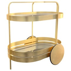 Limited Edition 1 of 50 Schonbuch Gold Grace Trolley by Sebastian Herkner