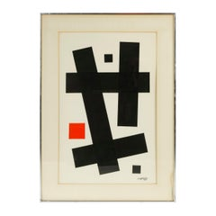 Limited Edition Abstract Print 75 by Angelo Testa