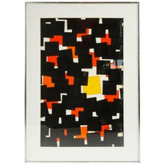 Limited Edition Abstract Print 76 by Angelo Testa