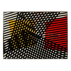Limited Edition Abstract Print 80 by Angelo Testa