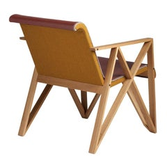 Limited Edition Armchair for Metz&Co, Designed in 1958 by Gerrit Rietveld