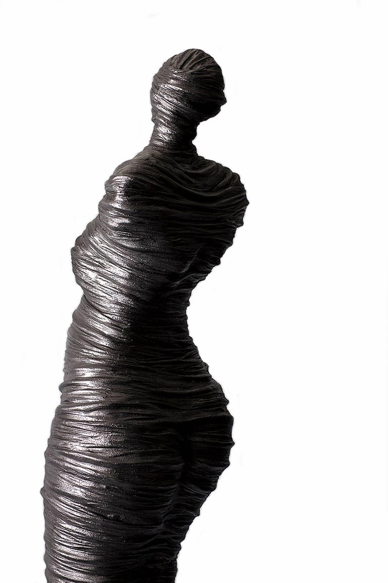 Stunning, sensual, impressive are but a few adjectives that describe this limited edition sculpture by Canadian artist Birgit Piskor, whose praises continue to be sung by an ever-growing list of collectors. This figurative sculpture is hand-molded