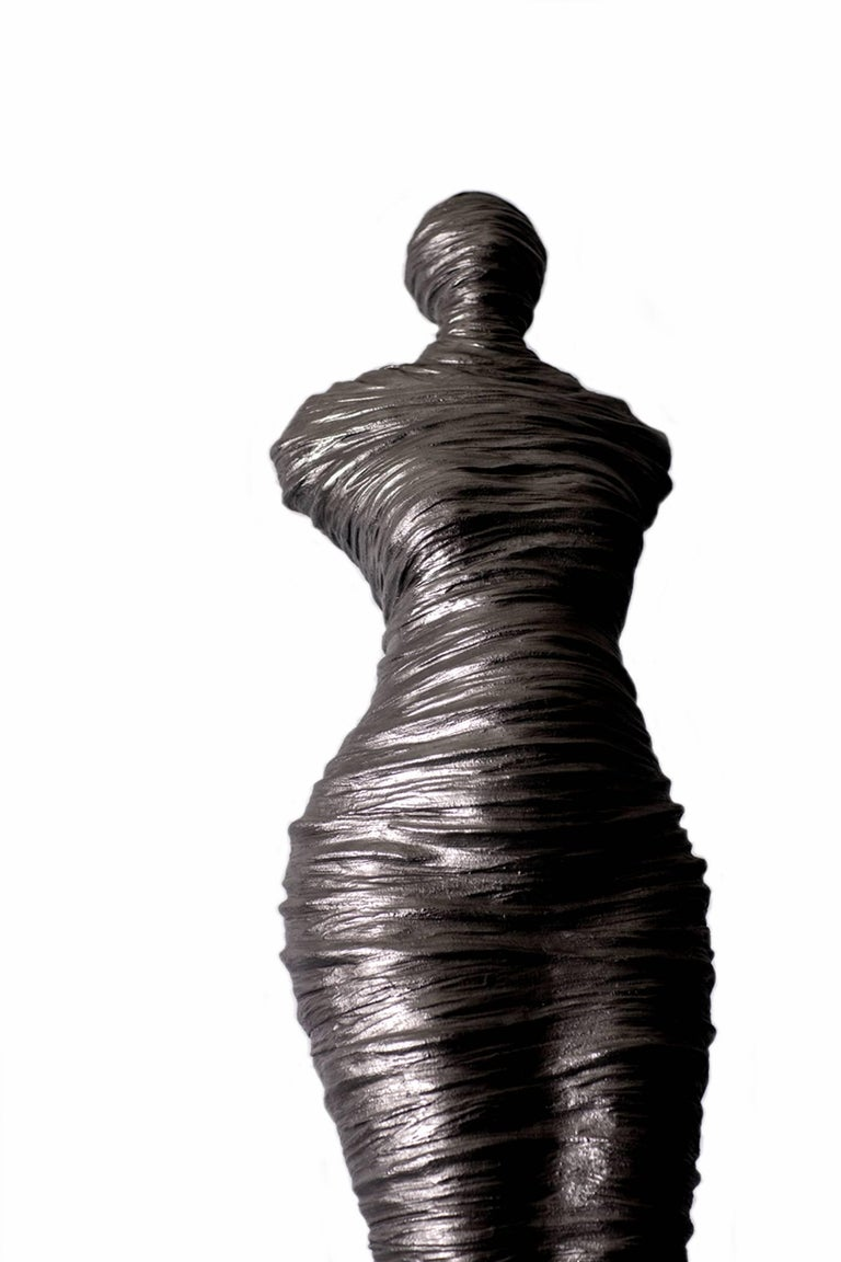 Canadian Limited Edition Auric Rapt Series Sculpture by Birgit Piskor For Sale