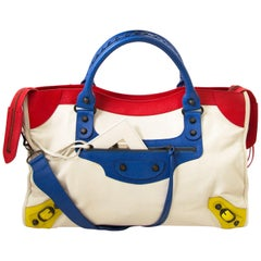 LIMITED EDITION Balenciaga Multicolor City Mondriaan LEGO Bag