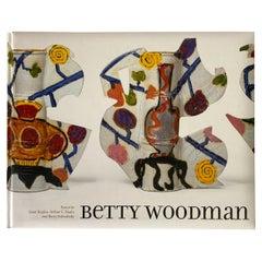 Limited Edition Betty Woodman Catalog with Original Woodcut