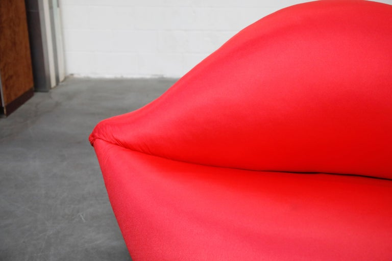 Limited Edition Bocca Sofa by Studio 65 for Gufram, Signed Dated Numbered, 1986 For Sale 4