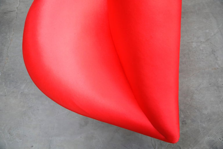 Limited Edition Bocca Sofa by Studio 65 for Gufram, Signed Dated Numbered, 1986 For Sale 9