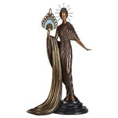 """Limited Edition Bronze Figure """"Aphrodite"""" by Erté"""