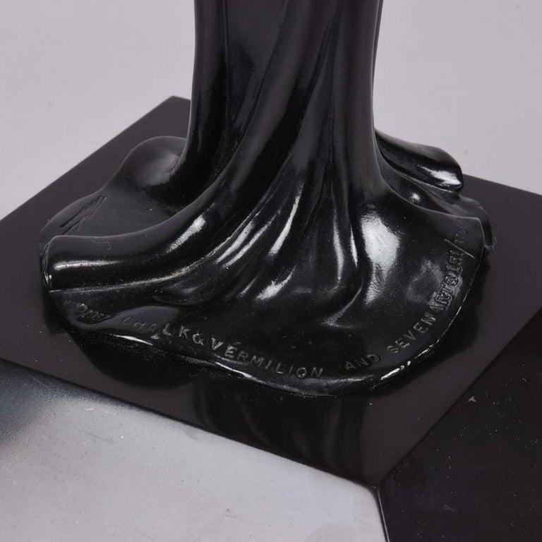 Limited Edition Bronze Figure 'Triumph' by Erté For Sale 3