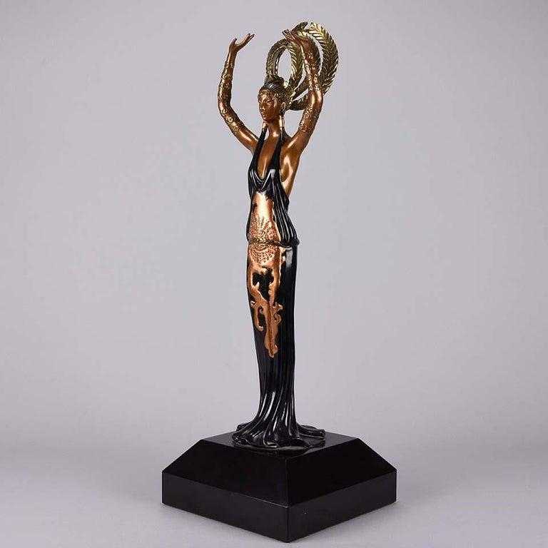 Limited Edition Bronze Figure 'Triumph' by Erté For Sale 1