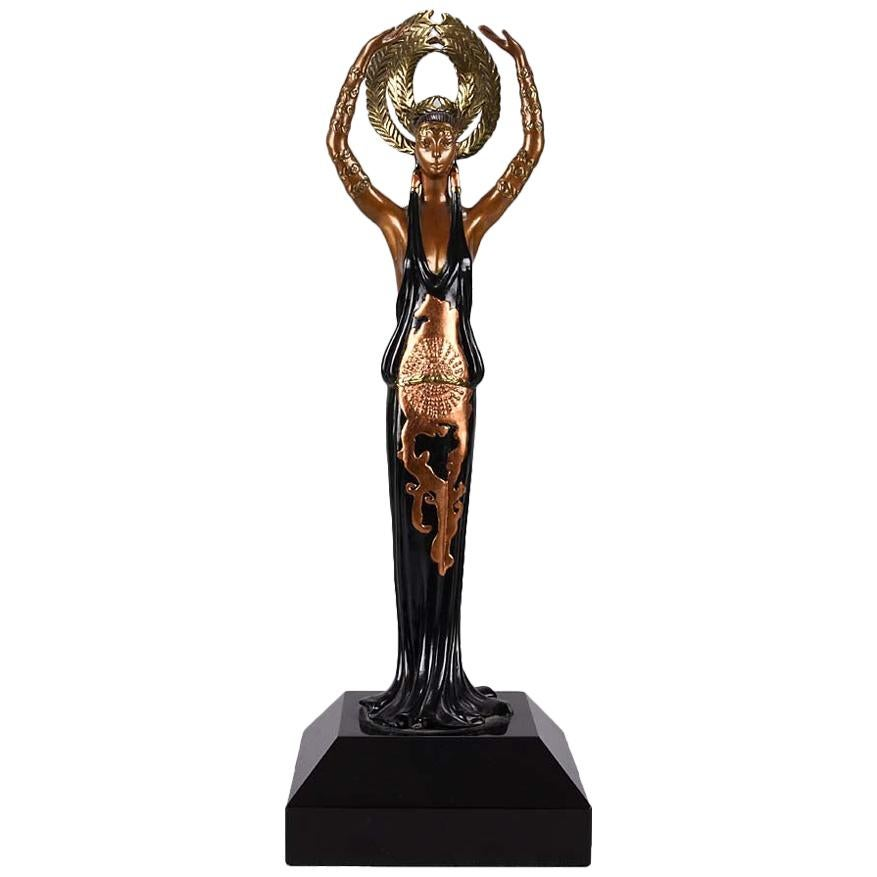 Limited Edition Bronze Figure 'Triumph' by Erté