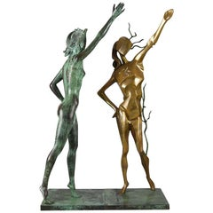 "Limited Edition Bronze 'Limited Edition Bronze Group ""Hommage a Terpsichore"" by"