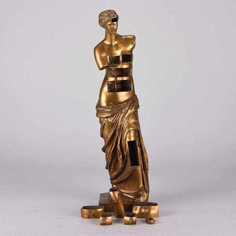 Limited Edition Bronze 'Venus de Milo with Drawers' by Salvador Dali For Sale 6