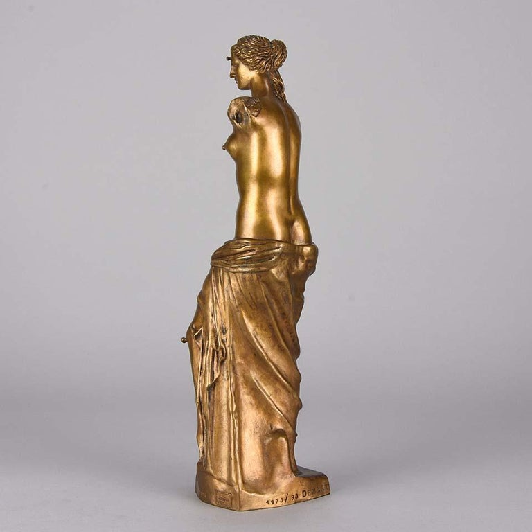 Late 20th Century Limited Edition Bronze 'Venus de Milo with Drawers' by Salvador Dali For Sale