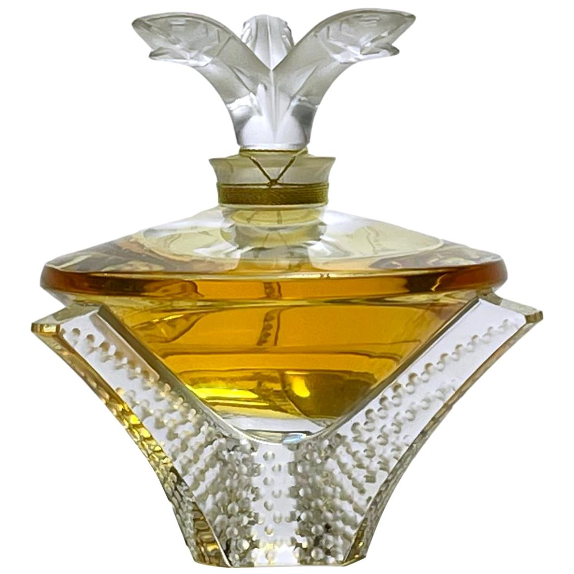 """Limited Edition """"Cascade"""" Perfume Bottle by Marie Claude Lalique"""