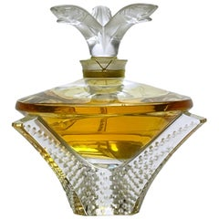 "Limited Edition ""Cascade"" Perfume Bottle by Marie Claude Lalique"