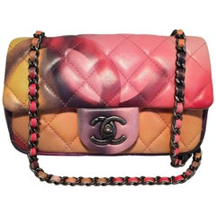 LIMITED EDITION Chanel Flower Power Small Classic Flap Shoulder Bag