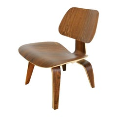 Limited Edition Charles Eames LCW Rosewood Lounge Chair for Herman Miller