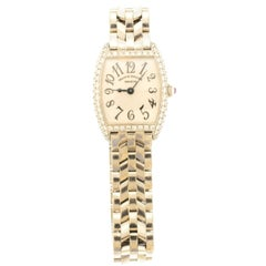 Franck Muller Geneve Ladies White Gold Diamond Ltd Ed Quartz Wristwatch