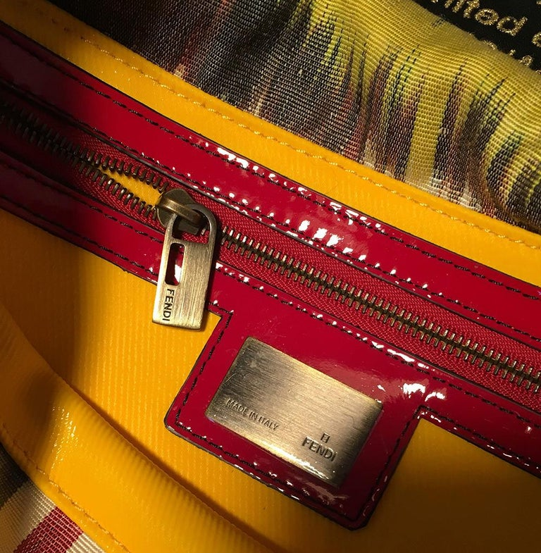 Limited Edition Fendi for Neiman Marcus Dreadlock Bird Baguette 33 of 44 Made For Sale 5