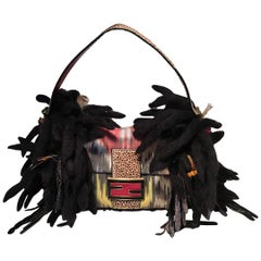 Limited Edition Fendi for Neiman Marcus Dreadlock Bird Baguette 33 of 44 Made