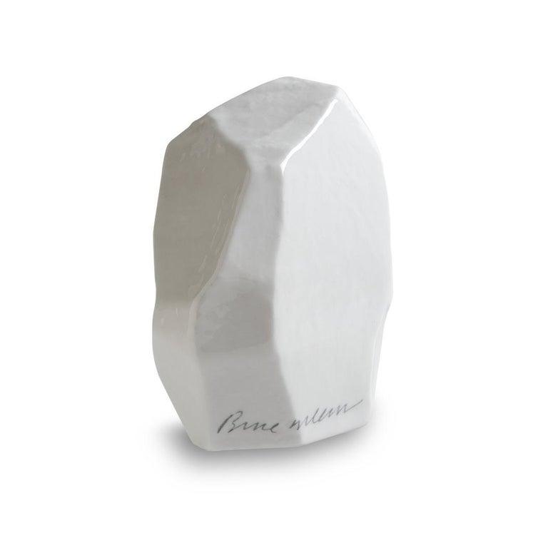 Modern Limited Edition Fine Bone China Potato Sculptures, Potato 1 For Sale