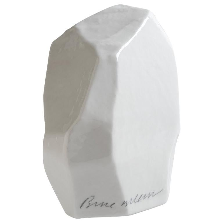 Limited Edition Fine Bone China Potato Sculptures, Potato 1 For Sale