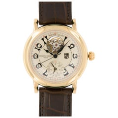 Limited Edition Frederique Constant Heart Beat Gold Watch