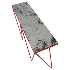 Giraffe Console Table with Granite Top, Made in Britain, Customisable