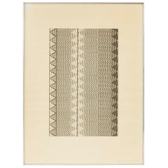 Limited Edition Graphic Design Lithograph Print by Konrad Wachsmann