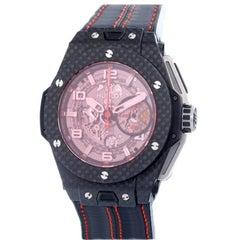 "Limited Edition Hublot Big Bang Ferrari ""Red Magic"" Chronograph Wrist Watch"