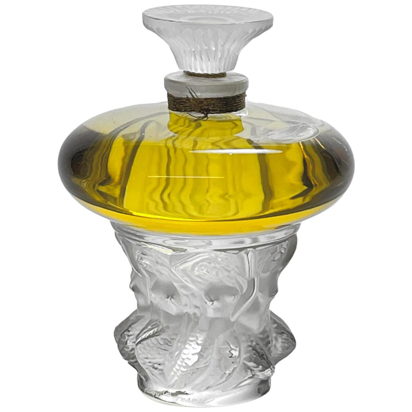 """Limited Edition """"Les Sirens"""" Perfume Bottle by Marie Claude Lalique"""