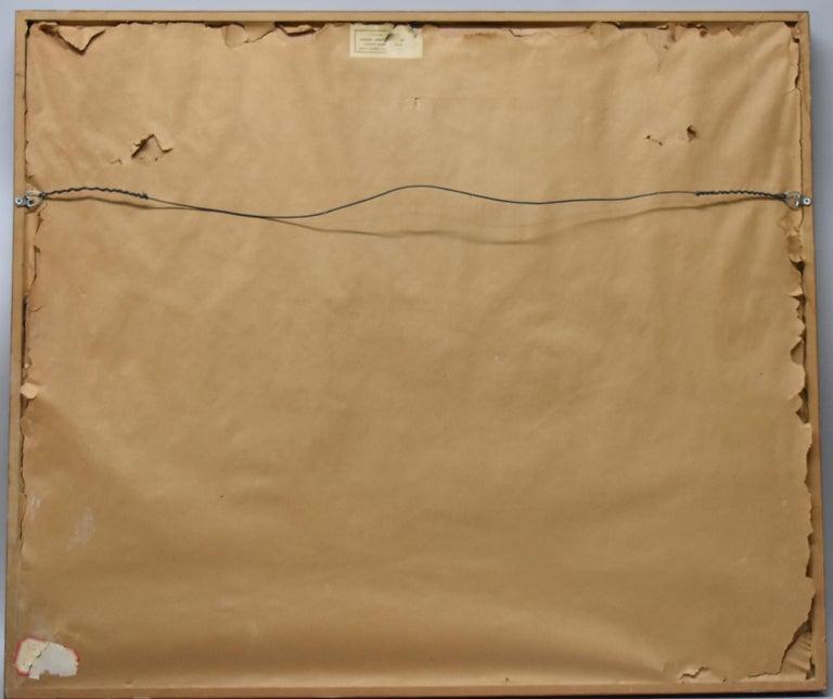 Paper Limited Edition Lithograph 202/250 by Jean Dufy Montmartre Et La Basilique Du For Sale