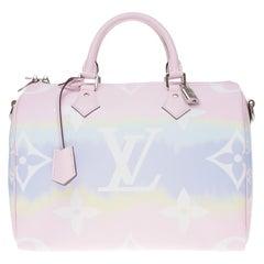 Limited Edition Louis Vuitton Speedy 30 Escale shoulder bag in Tie & Dye canvas
