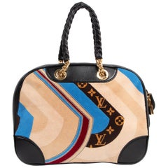 Limited Edition Louis Vuitton Vanity Tuffetage Bowling Bag